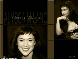 Alyssa Milano Photo Wallpaper