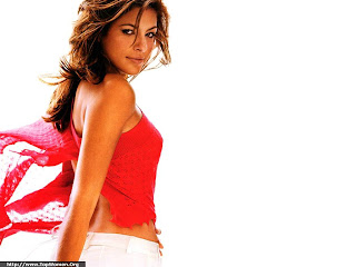 Eva Mendes Lovely Wallpaper