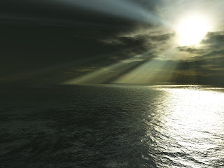 Water And Sun Free 3D Wallpaper