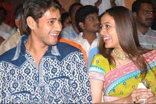 Prince Mahesh Babu with Wife Namratha