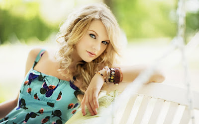 American Popsinger Taylor Swift Wallpaper