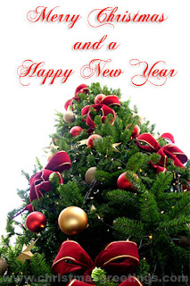 Happy Christmas and New Year Greetings