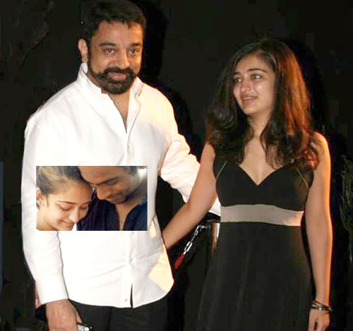 Kamal's daughter dating Srilankan - YouTube