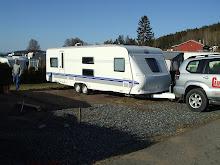 Campingvogna vår