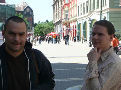 Mészáros Márton, Csepregi János (balról jobbra)