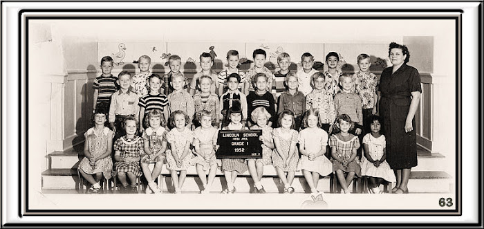 LINCOLN 1st. grade group 1952