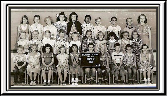 WEBSTER 2nd grade group 1953