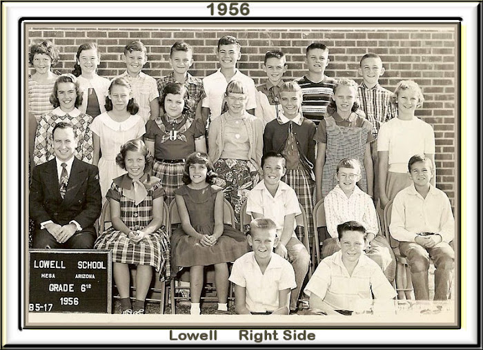 LOWELL 6th 1957 Right Side