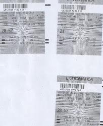 30 DICEMBRE 2010 AMBO SECCO VINTI 500 EURO