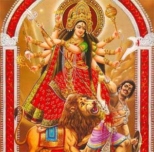 navratri wallpaper, maa durga wallpaper, happy navratri wishes greetings