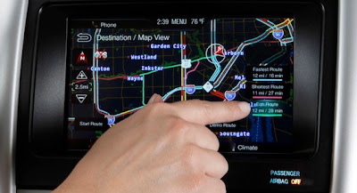 Ford new MyFord Touch System
