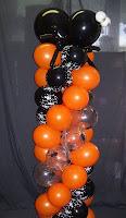 decoraciones con globos para halloween