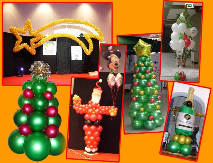 Decoraci n con globos para navidad decoraci n con globos - Como decorar el salon en navidad ...