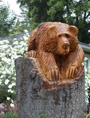 Chainsaw carving adventuresinchainsawing