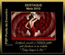 Certificado de Excelência - Maio 2010