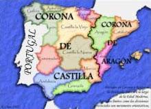 Corona de las Españas: Corona de Portugal, Corona de Castilla y Corona de Aragón