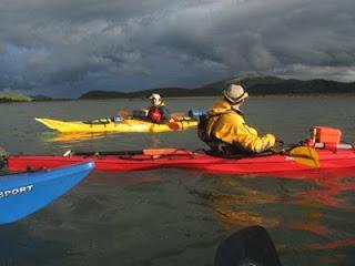 Fotografia a bordo de un kayak II