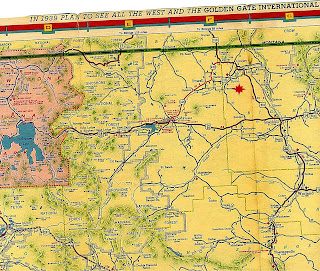 Penrose Mornings Blood Family Blog Northern Wyoming Map From - Map of northern wyoming