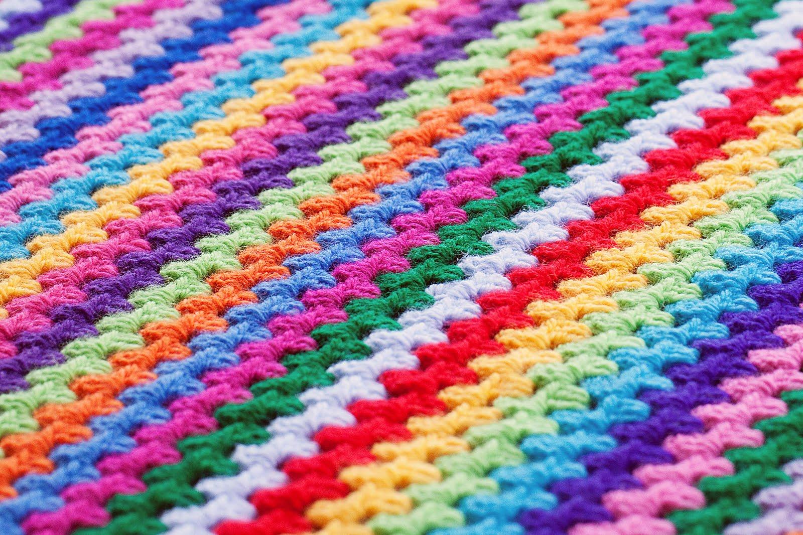 Granny Stripe Blanket Pattern Awesome Inspiration Design