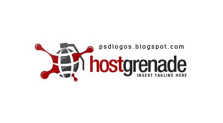 psd logos host grenade logo