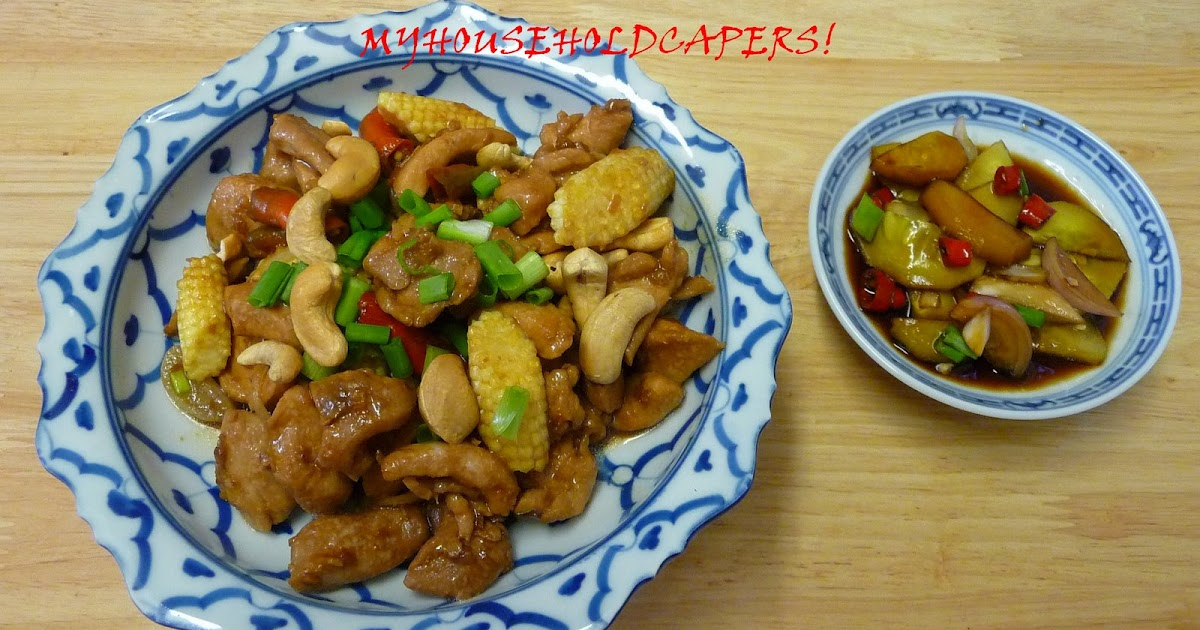 My household capers recipe stir fried chicken and baby for Fish sauce stir fry