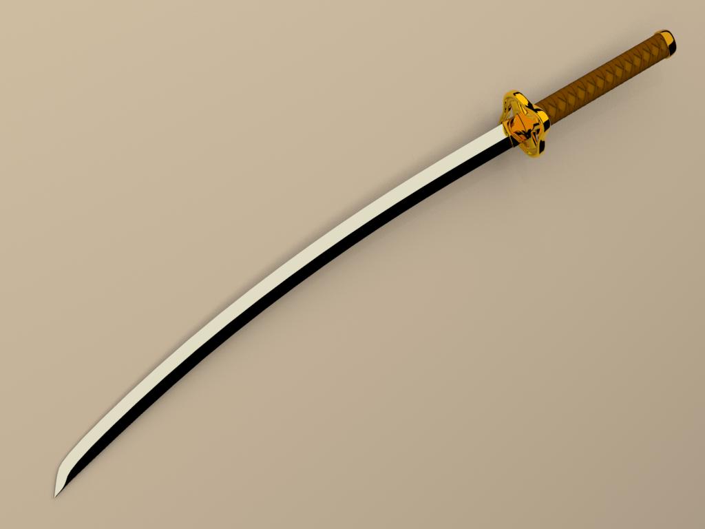 mi arma..... Katana