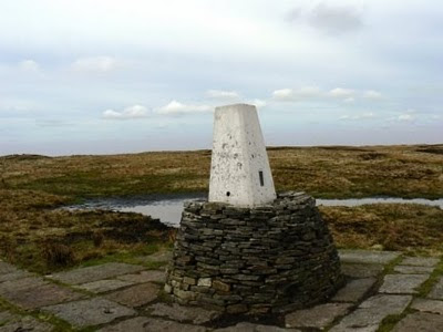 The surprisingly peat free summit of Black Hill