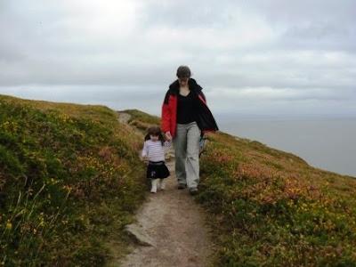 Lisa and Rhiannon from Mynydd-Tir-y-cwmwd