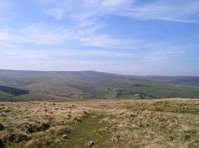 Killhope Law - one of the hills on my to do list for 2010 that I failed to tick off