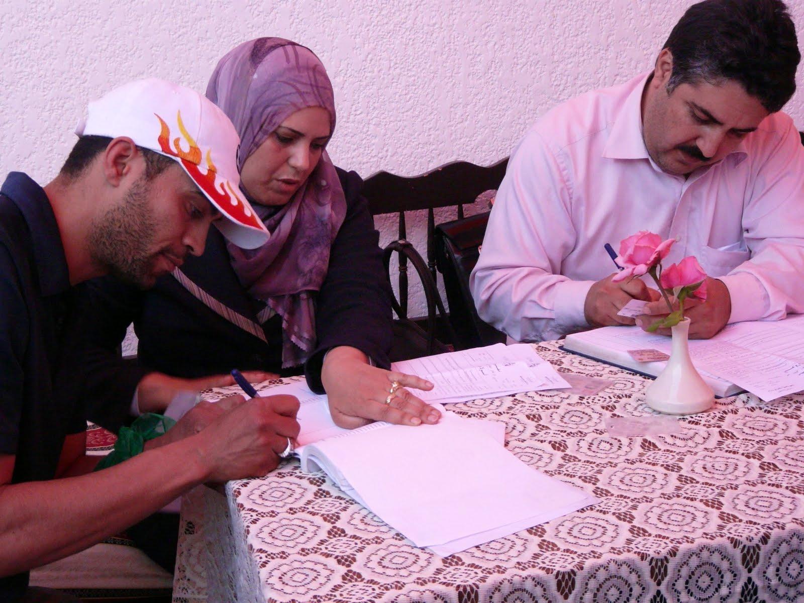 Voyage Tunisie Mariage La Signature Du Contrat