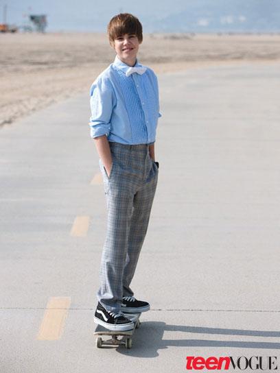 justin bieber photoshoot 2010. Justin Bieber In Teen Vogue: