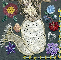 sequins stitches embroidery