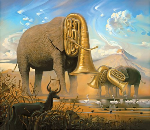 salvador dali from realist to surrealist Surrealism in magic realism  you've probably seen some crazy paintings by the surrealist salvador dal  that's partly because magic realist writers took.