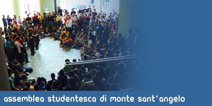 ASSEMBLEA STUDENTESCA DI MONTE SANT'ANGELO