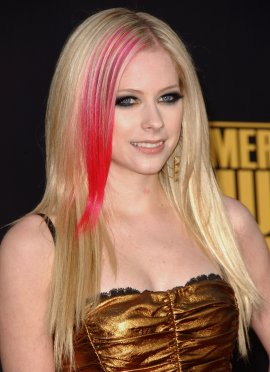 Style Hair Harajuku Avril Lavigne New Hairstyle