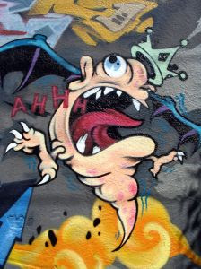 graffiti monster bobo