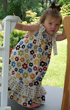 "Sharing my ""recipe"" for making this cute little girls Pillowcase Dress!"