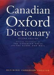 Canadian Oxford Dictionary of Canadian-English