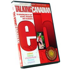"""Talking Canadian Eh"" DVD - Canadian Broadcasting Corporation / Radio-Canada"