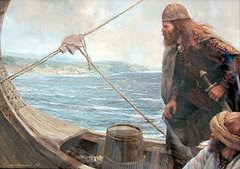 1000 A.D. Icelandic Vikings Discover Canada (and North America)