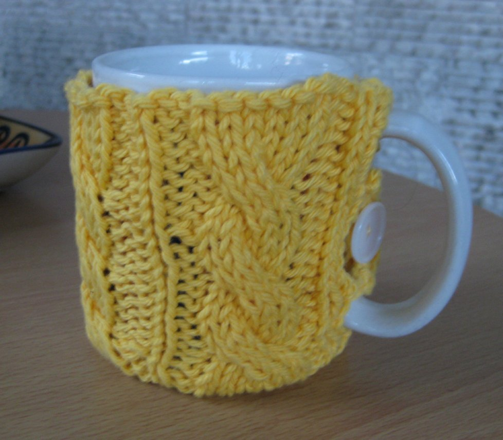 Exelent Coffee Cozy Knitting Pattern Images - Sewing Pattern for ...