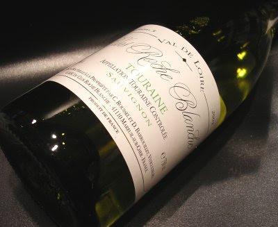favorite favourite wine 2006 clos roche blanche's sauvgnon blanc touraine 2005