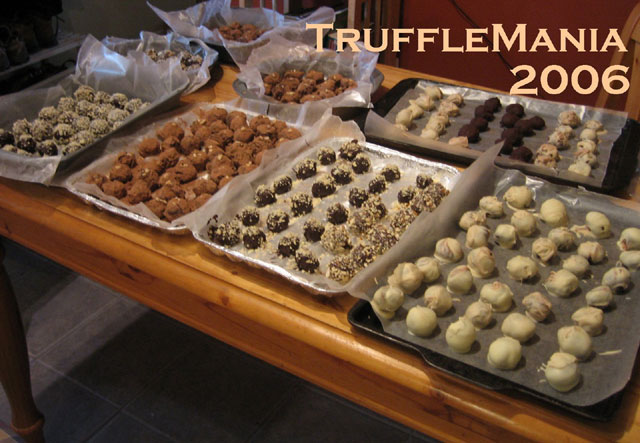 isha tan truffles trufflemania 2006 chocolate