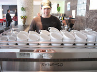 anthony benda synesso espresso machine