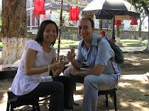 ijsje eten in Hue