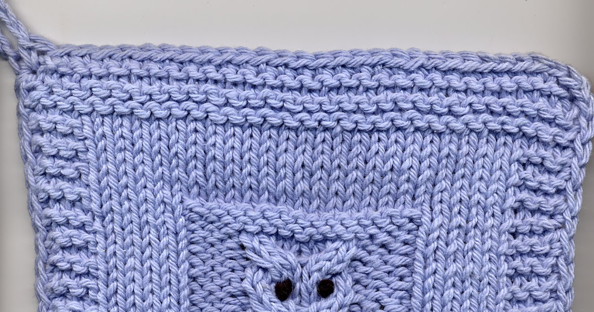 Knitting By Post Owl : Freebies for crafters owl potholder knitted