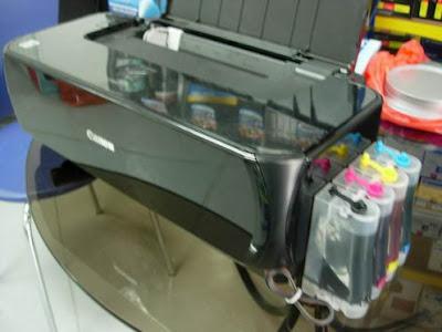 akan menoba menulis tentang cara memasang infus pada printer canon
