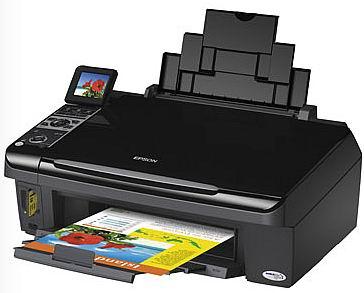 Atasi Printer Epson TX400 SX400 Blinking, Resetter Software