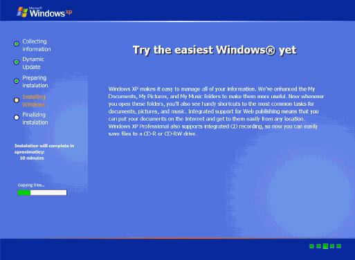 Cara Install Windows XP 10 Menit - Bagian II, melanjutkan Posting ...