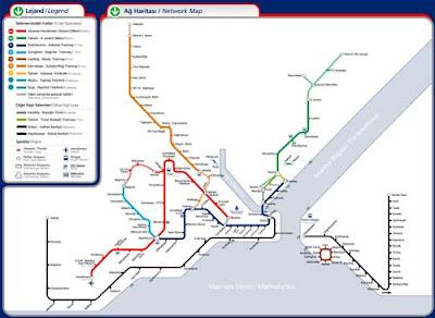 Стамбул карта метро